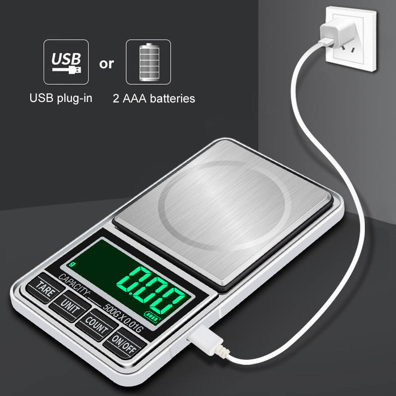 Mini Green backling 0.01g pocket Digital Scales for Gold Bijoux Sterling jewelry weight Balance Gram Electronic Scales