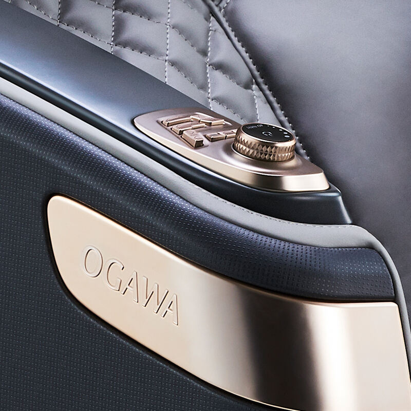 4D OGAWA deluxe advanced electric full body heating shiatsu with head massage healthcare zero gravity massage chair