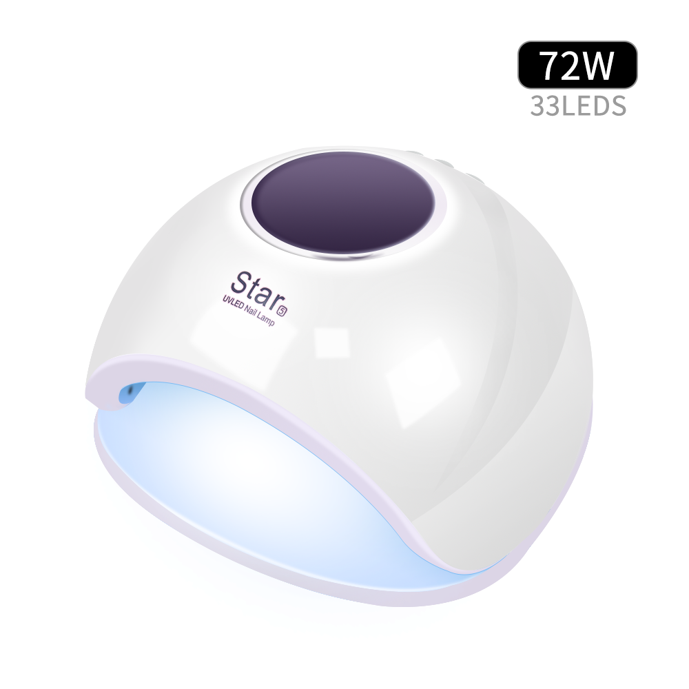 72w uv led nail lamp for manicure and pedicure OEM