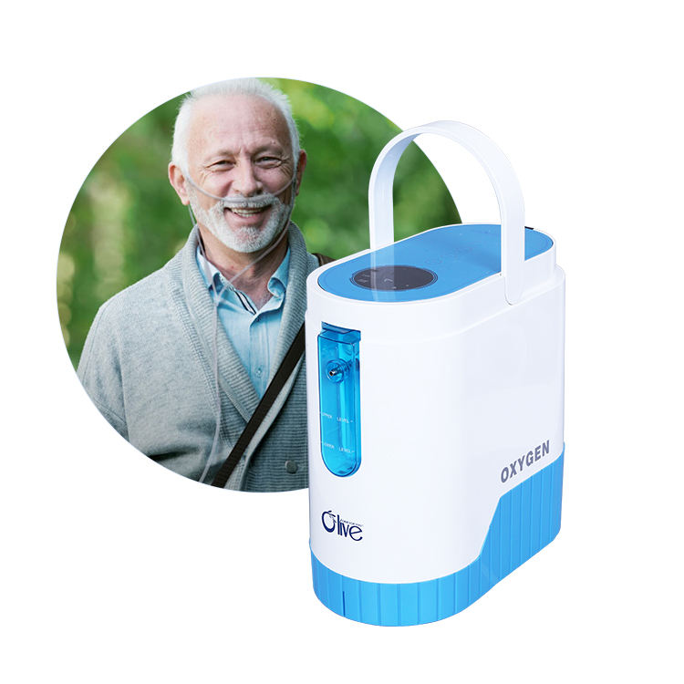 Mobile Concentrador De Oxigeno Portatil Medical Oxygen Concentrator Portable With 13 Hours Battery Life