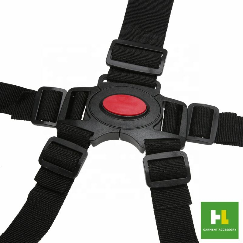 High quality Kids baby Chair 5 points harness car seat belt