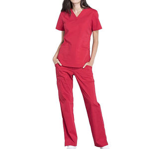 Greys Anatomy Bleach Resistant Short Sleeve Hospital Uniforms Scrubs Tops And Pants Nursing Scrubs Uniform Type Scrub Set