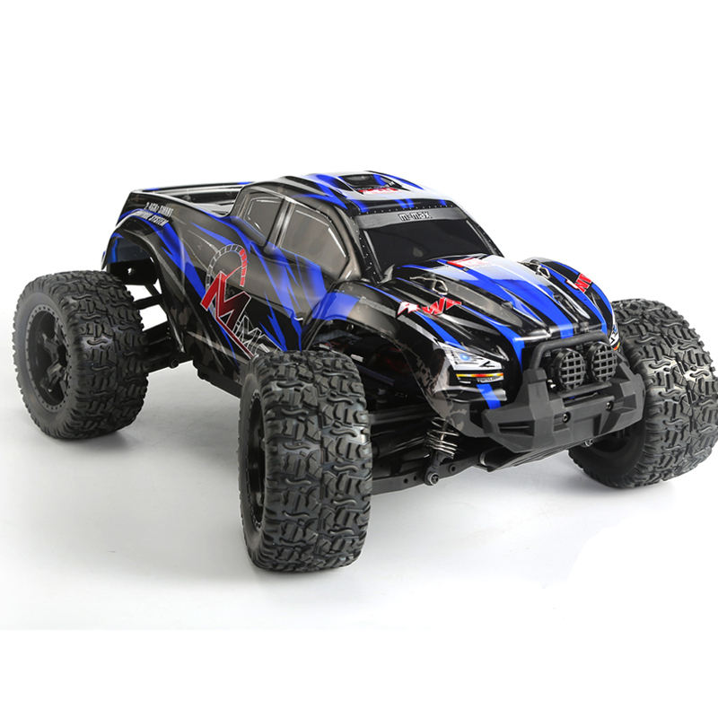 Electric 4WD 1:10th off-road Brushed monster truck MMAX Remo Truck(Lipo battery)