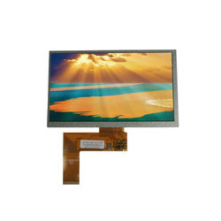 7inch 800x 480 lcd display with RGB interface 40pin with capacitive touch panel optional