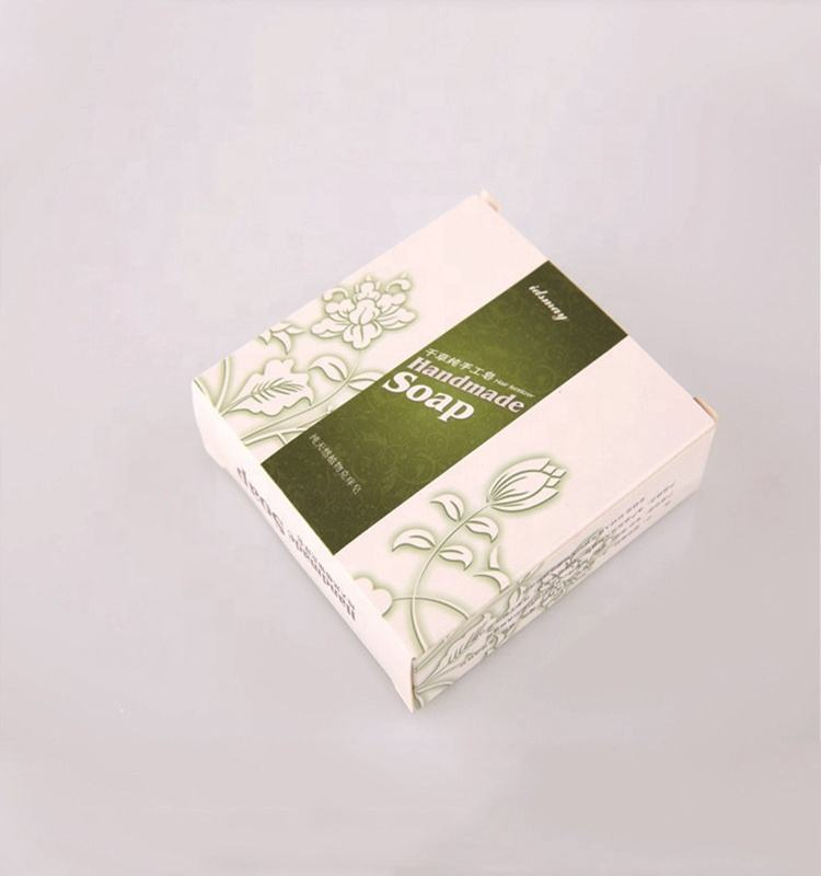 Packaging design of handmade soap boxes