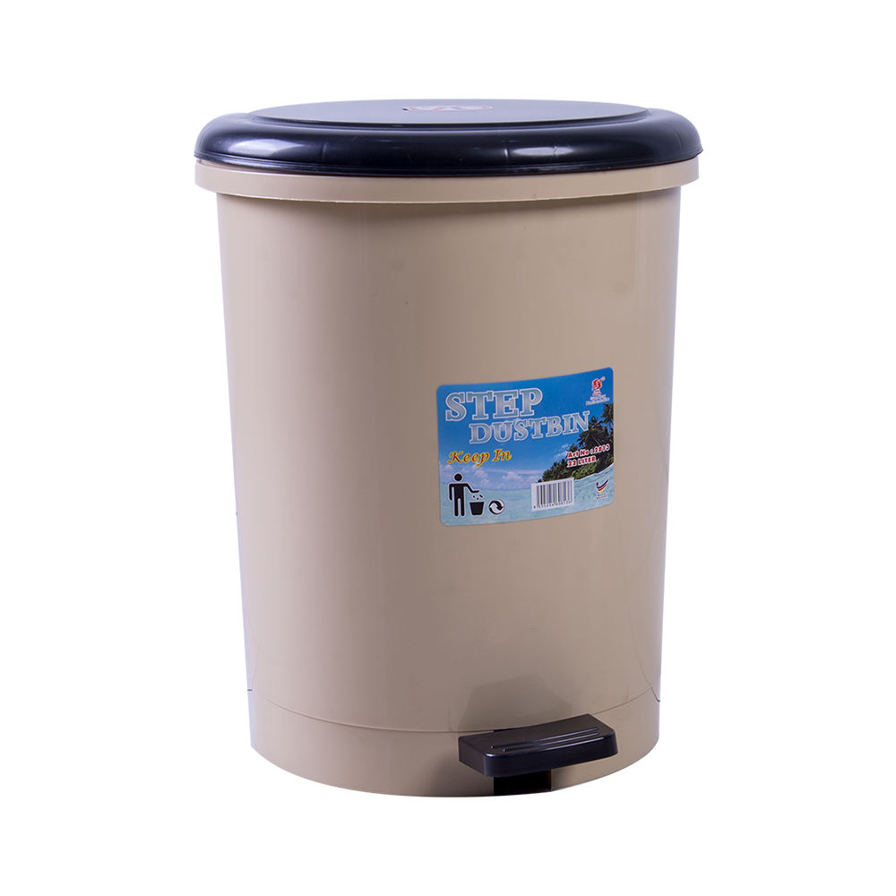 Hand press pedal trash can with lid classification foot office bathroom toilet living room kitchen household garbage cartridge