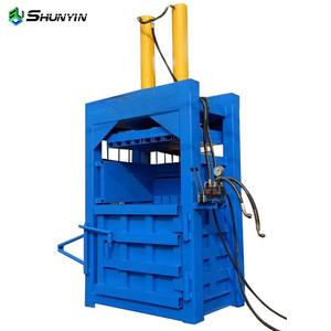 Hydraulic Press Double Cylinder Bailing Press/PET bottle baling machine with CE certification for hot sales