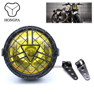 5.75'' Cheapest Custom Motorcycle Projector Headlights Led H4 Headlamp For Motorbike