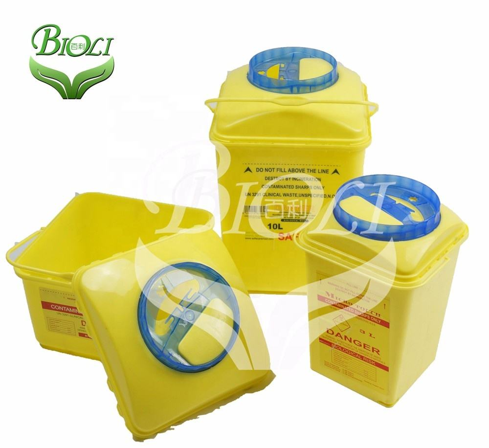 Plastic Medical Sharp Disposable Container