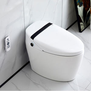 china toilet factory Wholesale Cheap Prices Bathroom intelligent smart toilet electric automatic one piece bidet toilet