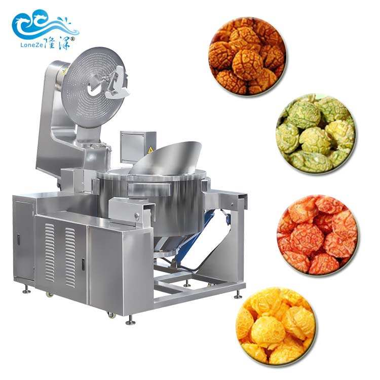 Cheap Price Industrial Commercial Popcorn Machine Automatic Popcorn Machine Popcorn Machine Commercial for Snack Food with CE