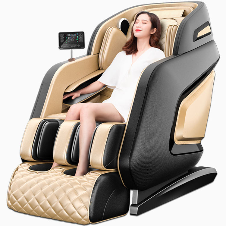 2019 new 4D massage chair professional relaxation finger press armchair with heating system