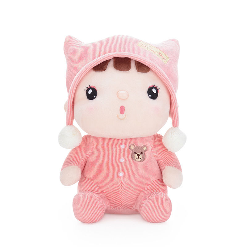 Metoo Beautiful Sitting Posture Sugar Bean Dolls Originality Birthday Plush Toys Doll Gift