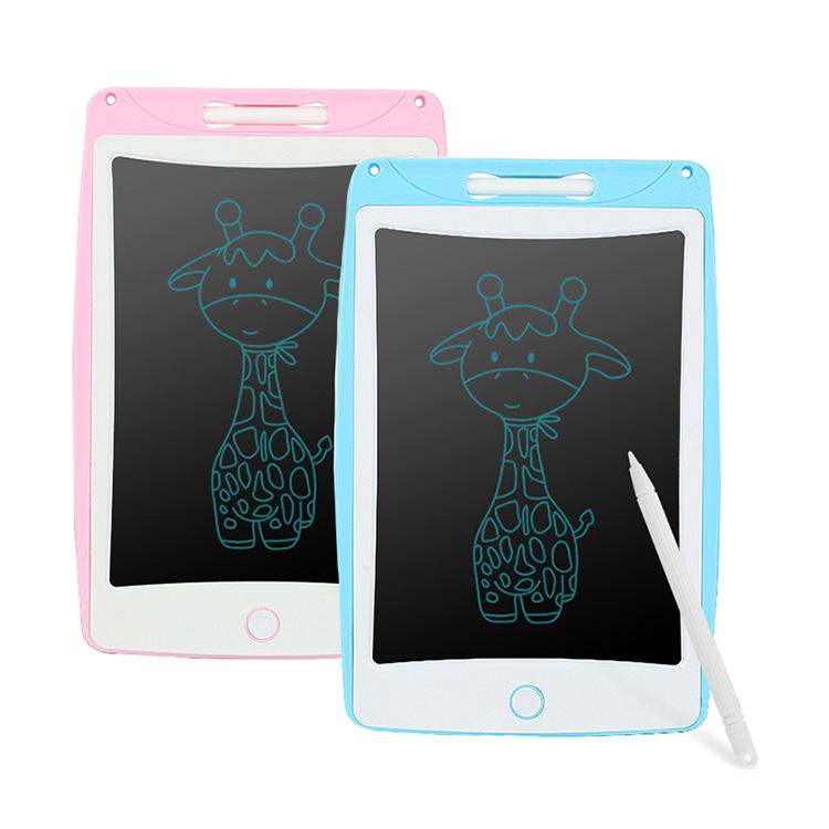Kids Portable 8.5 inch Erasable LCD Writing Tablet Drawing Board Digital Graffiti Handwriting Memo Pad Electronic Writing Board