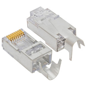 CAT7 SFTP Schermato Connettore 8 Pin GATTO 7 RJ45 Connettore CAT7 Spina Modulare