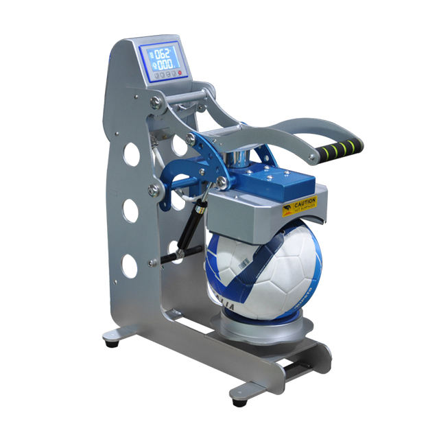 Auto open ball sublimation heat press machine