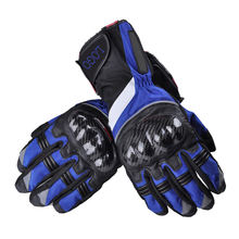 New Style Motorcycle Motorbike Sports Racing Cowhide Leather Gloves
