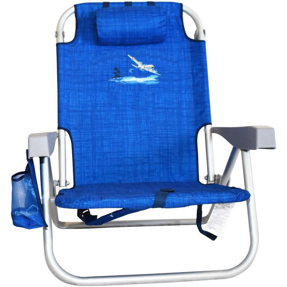 Super quality new style folding pillow pvc coating Strap fabric beach chair outdoor custom foldable metal fishing camping chairs
