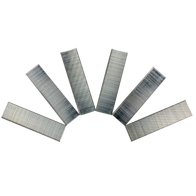 Manufacturing ODM 18ga Iron Q195 Industrial Zinc Galvanized F Type Wire Brad Gang Chair Decorative Nails for Upholstery