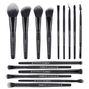 Hot Sell Professional Makeup Brushes Set 15 Promotional Gift Cosmetics Brushes OEM Acceptable