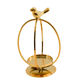 Factory Supply Beautiful Unique gold quist african birthday candle holder