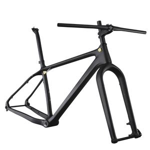 Hotsale OEM Carbon fat bike frame with max tire 4.7''