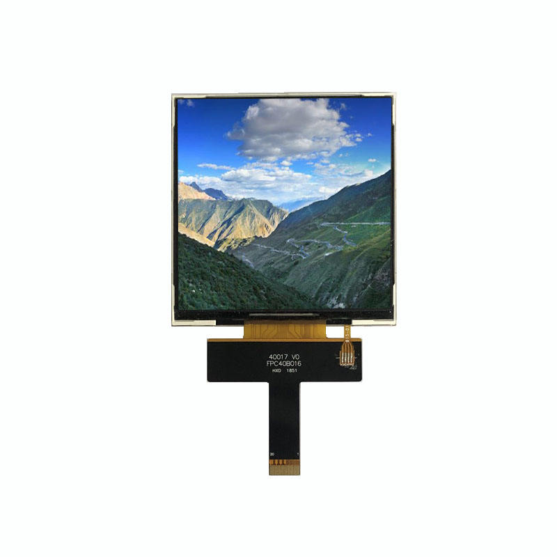 4 inch square tft lcd display 480*480, ST7701S MIPI interface, square TFT full viewing angle, high brightness IPS LCD