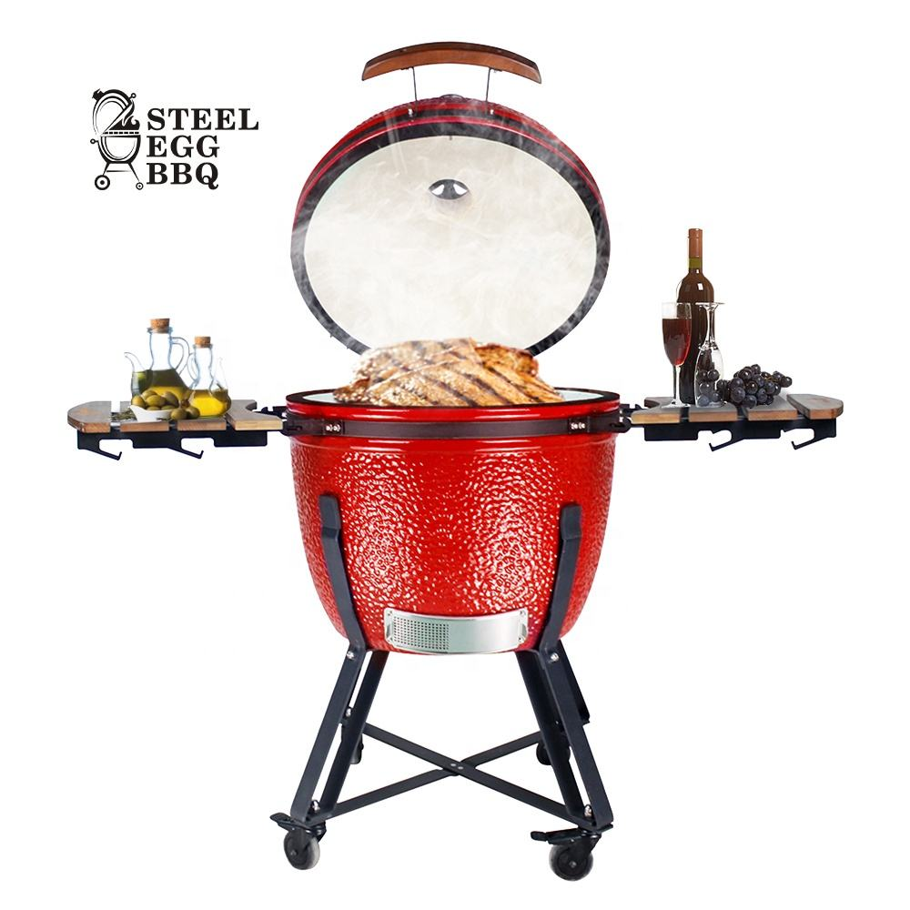 SEB KAMADO 23.5インチOutdoor Charcoal BBQ Barbeque / Barbecue Ceramic Kamado Grill