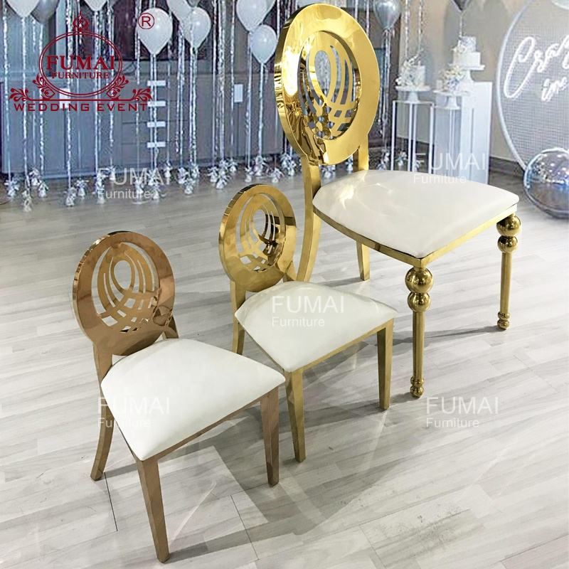 Party wedding kid furniture dining metal back soft seat child metal chair