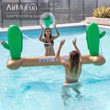 Airmyfun New Design Funny Inflatable Water Volleyball Pool Games Toys For Sale