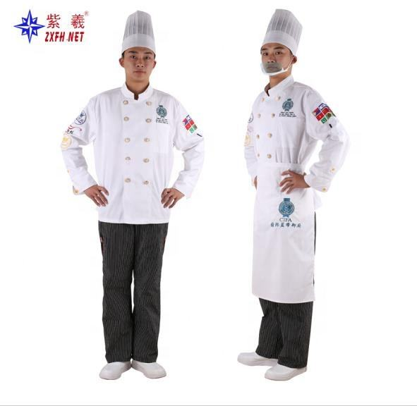 OEM wit mens classic chef <span class=keywords><strong>jas</strong></span> Chef Uniform chef <span class=keywords><strong>jas</strong></span> Voor Kok Ware