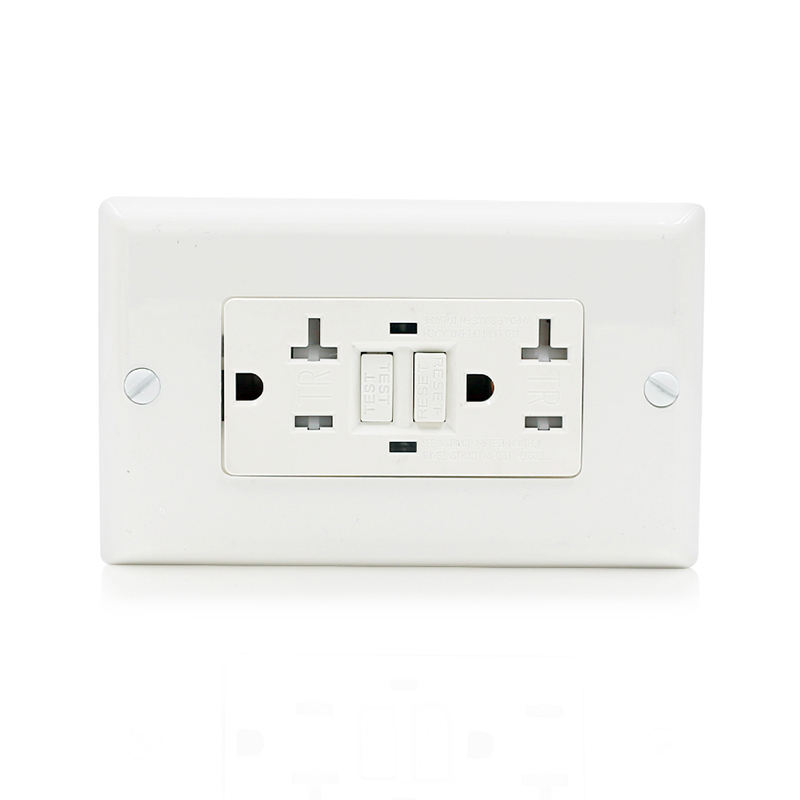 TST20 <span class=keywords><strong>GFCI</strong></span> <span class=keywords><strong>20A</strong></span> 125V Receptacle Outlet Certificated American Duplex Receptacle Outlet Tamper Resistant