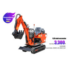 0.8T Excavator for sale