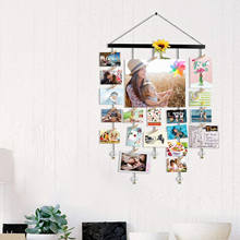 Emfogo Hanging Photo Display DIY Picture Photo Frame Collage Set