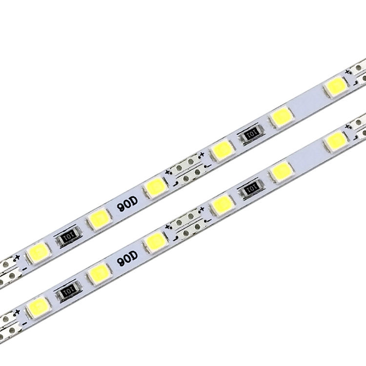 4MM narrow board LED Hard Light Bar DC12V 90 beads rigid light strip for backlighting