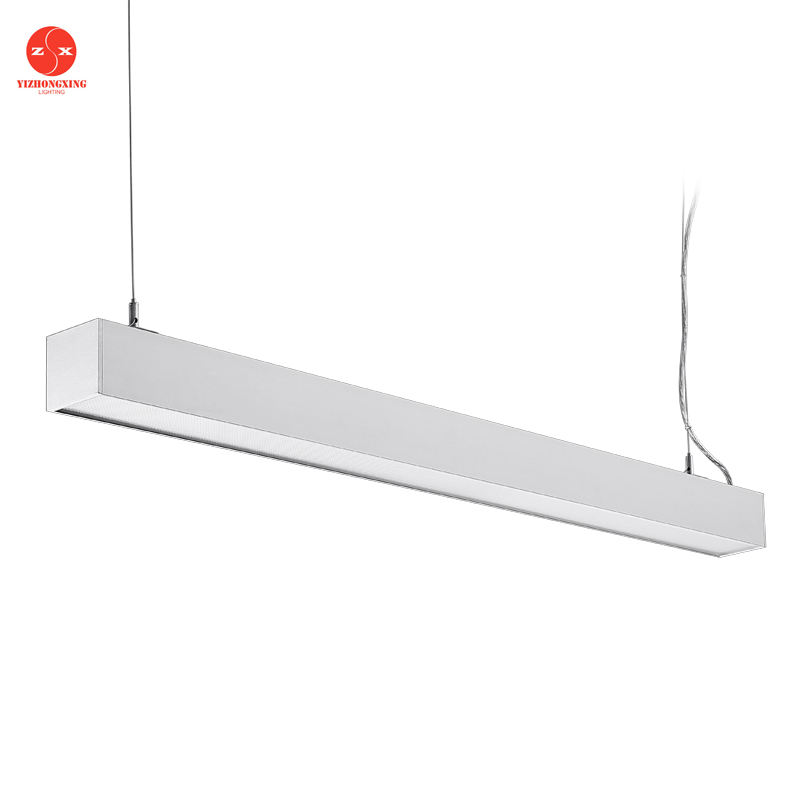 20w 40w 60w 80w lineaire led hanglamp, lineaire led buis, lineaire led opgeschort buis licht
