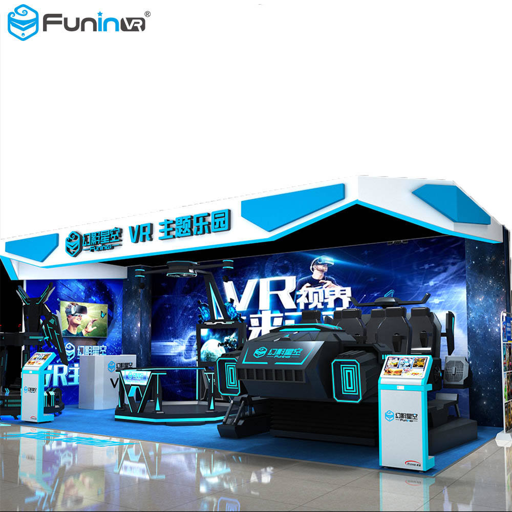 Earn Money Product 9D VR Multiplayer Shooting Games Interactive Amusement in Amusement Park