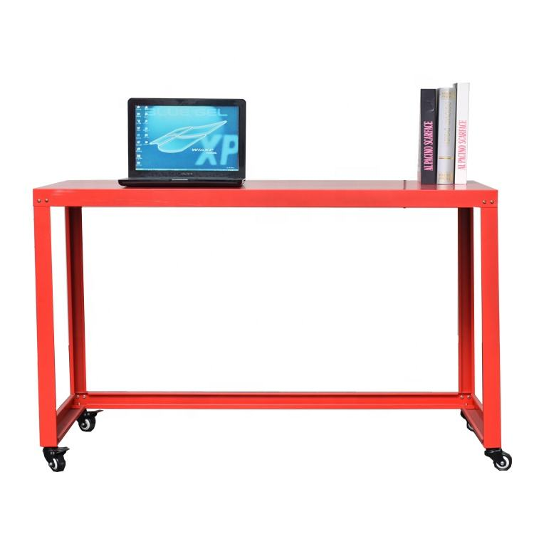 Office Furniture Mobile Computer Table Workstation With Wheels