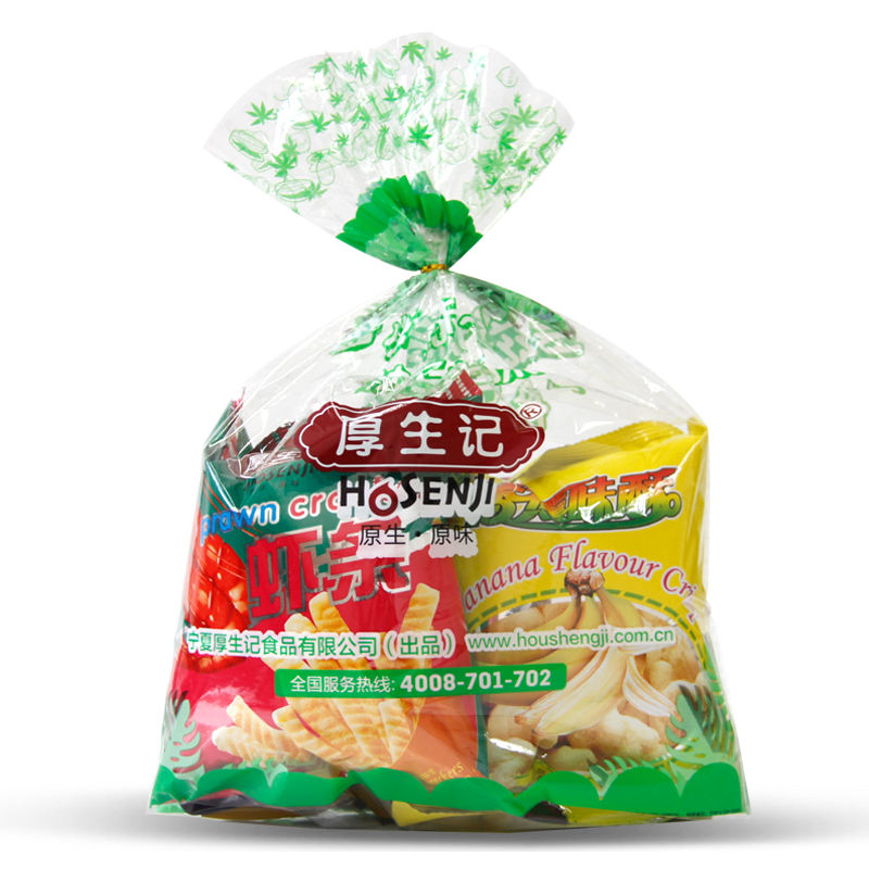 Chinese all kinds of mixed snacks food with different flavor OEM supplier scaled-production