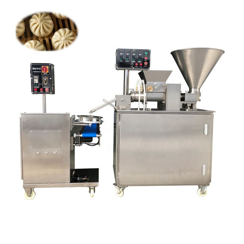 Automatic 4000PCS/H fully stainless steel 304 Steamer Bun khinkali dumping Making Machine