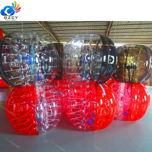 Wholesale Human Inside Bubble Soccer Ball Suit Bumperball PVC Inflatable Body Bumper Ball With Pump