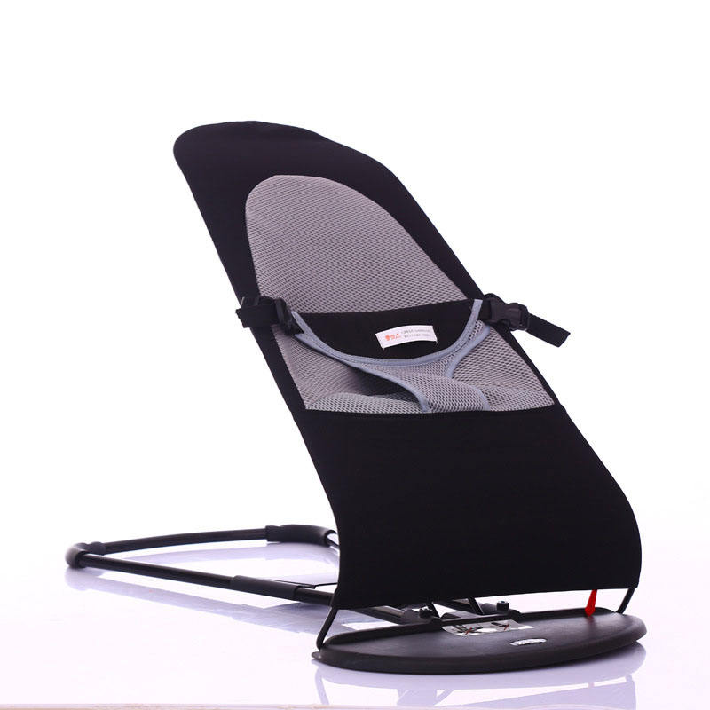 LYMECH portable Fold Cotton Carbon Steel Baby Chair seat for kids