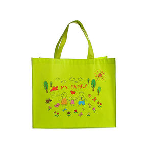 Custom logo Printing PP Laminated Shopping Non Woven Bag