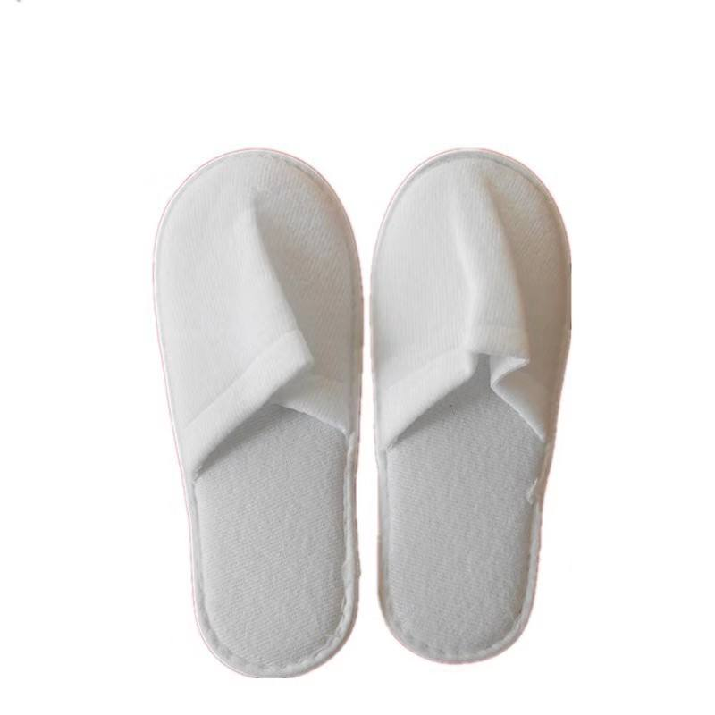 Cheap hotel bedroom disposable slippers for men women hotel