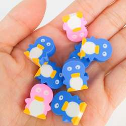 Little cartoon cute animal eraser for students
