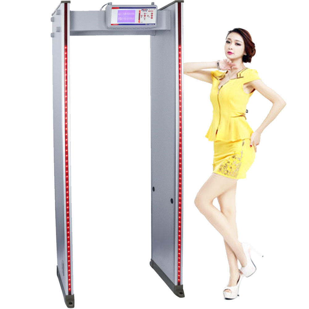 6 Zoon 2019 New Walk Through Metal Detector For Gold Factory MCD600