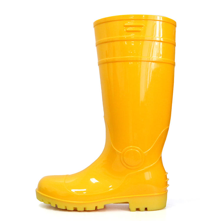 High Boots Acid And Alkali Resistant Rubber Waterproof Glitter Rain Boots For Men