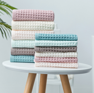 Wholesale face towels cheap hotel 100% cotton bamboo fiber bath towels
