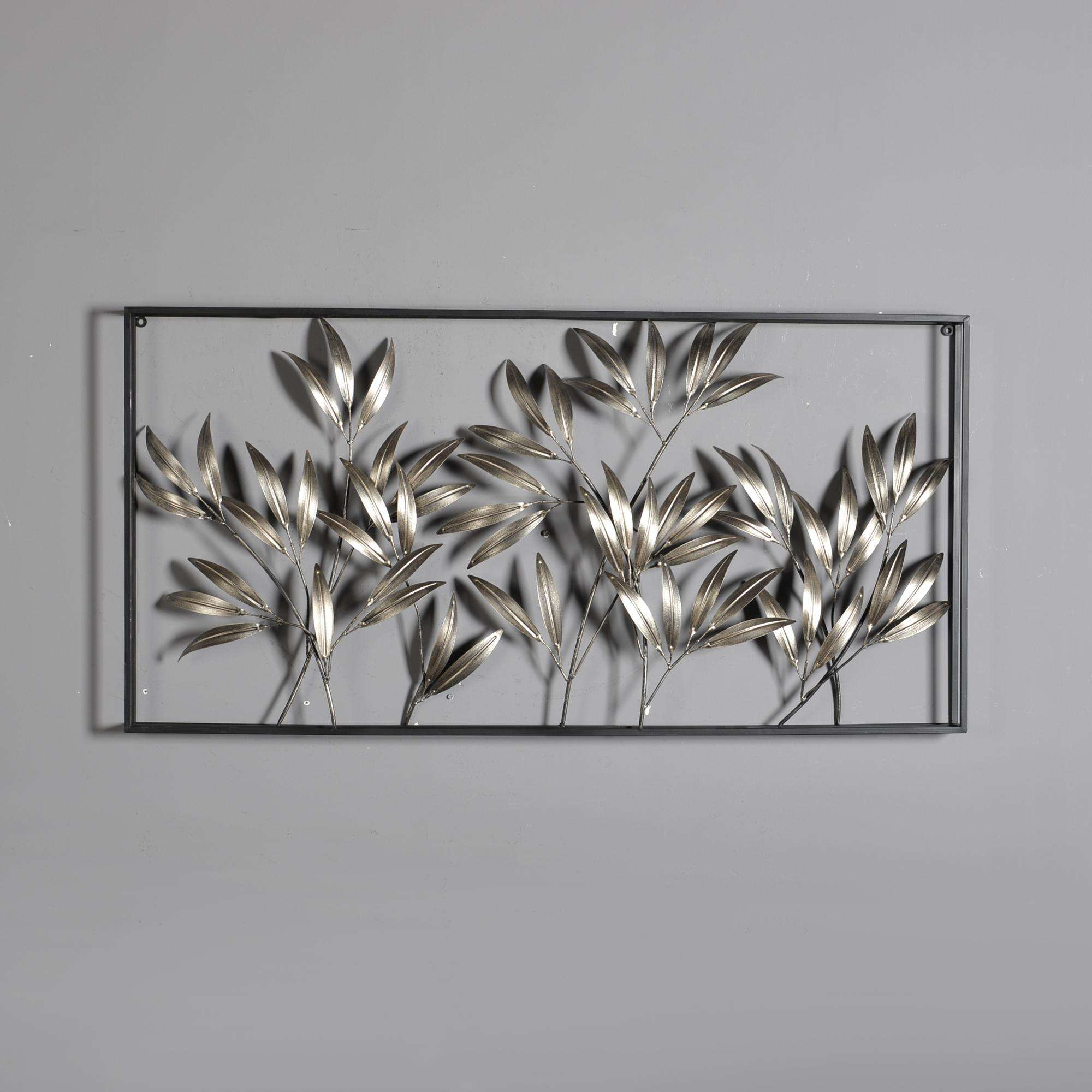 Mayco Contemporary Hotel Indoor Metal Wall Art Wrought Iron Home Decoration