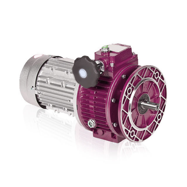 UDL series planetary cone & disk step-less transmission worm gearbox speed variator with motor